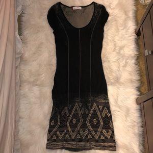 Anthropologie Aldo Martin's black dress, size 6